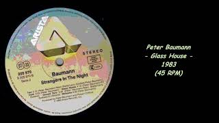 Peter Baumann - Glass House - 1983 (45 RPM)