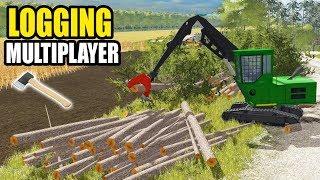 farming simulator the squad logging - 免费在线视频最佳电影