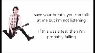 """5SOS Reject Lyrics"""