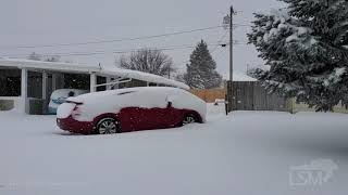 02-03-2020 North Salt Lake, Utah Heavy Snow
