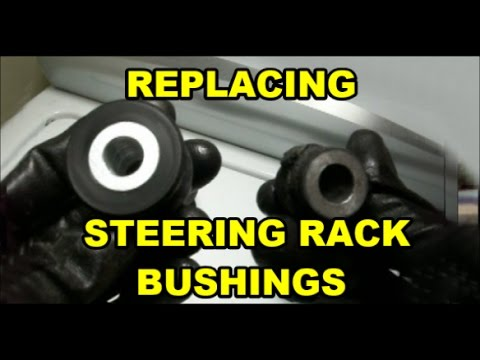 Power Steering Rack Bushing Replacement - смотреть онлайн на