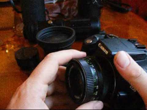 Old M42 Lenses On Canon EOS 350D / Digital Rebel XT