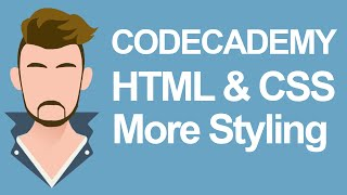 Gambar cover Codecademy HTML & CSS More styling