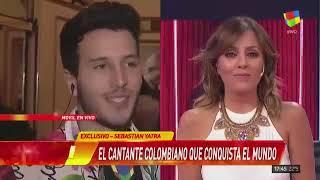 Sebastian Yatra Habla De Tini Stoessel 'si No Fuera Por Pepe, Estaria Yo Con Tini