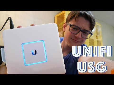 Ubiquiti UniFi USG Unboxing, Configuration, and Review [Home Networking]