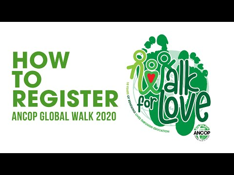How To Register: Virtual ANCOP Global Walk