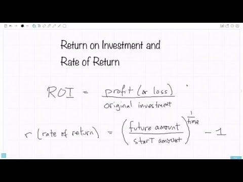 mp4 Investment Rate Of Return, download Investment Rate Of Return video klip Investment Rate Of Return