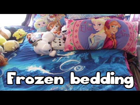 Frozen bedding sets, pillows etc.