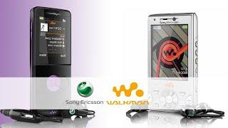 Sony Ericsson Walkman Series / Series Ponsel Musik Terbaik Di jamannya
