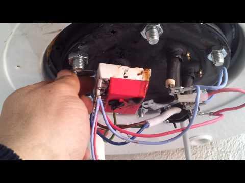 Como reparar fuga de agua de Termo Eléctrico Edesa 100 litros, vídeo 1/2