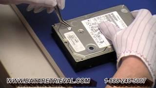 How to open HITACHI DESKSTAR hard drive