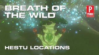 Zelda: Breath of the Wild - Every Hestu Location