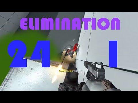 SkillWarz | 24-1 Elimination 2v2 with M110: