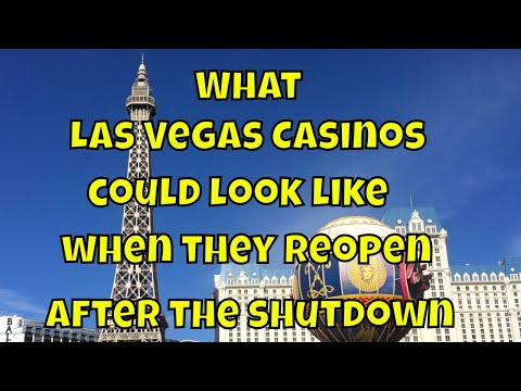What Las Vegas Casinos Could Look Like When They Reopen