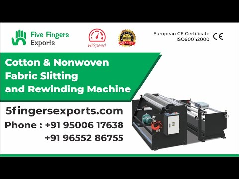 Non woven Roll Slitting Winding Machine