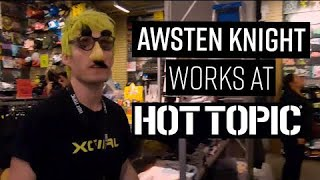 Awsten Knight Works At Hot Topic For A Day