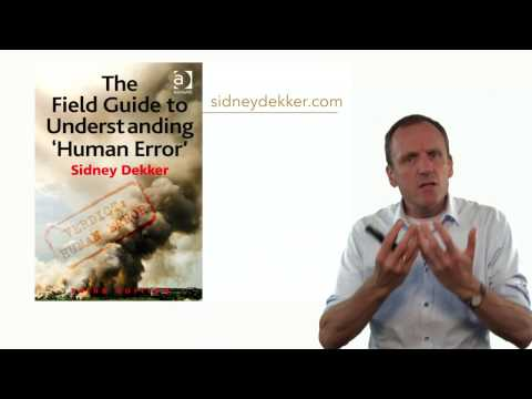 Understanding Human Error – Part 5