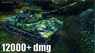 Лучшая ПОЗИЦИЯ для ДАМАГА Объект 430У 🌟 12000+ dmg 🌟 World of Tanks максимальный урон