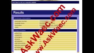askwaec upgrading waec result to 9A