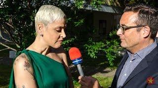 Interview with the Portuguese Fado legend Mariza @ Eurovision in Lisbon 2018