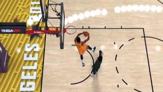 NBA Yr 1: Dunk Contest