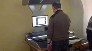 Archival scanning with Zeutschel OS 12000