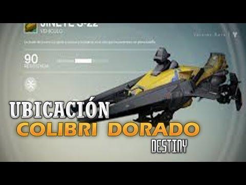 [ Destiny ] Conseguir Colibri Dorado