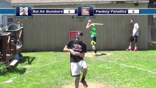 Backyard Wiffleball Tournament Game 1: Bel Air vs. Fanboy