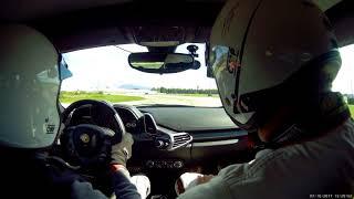 Ferrari 458 RS Italia - Istruttore Soddisfatto Della Performance
