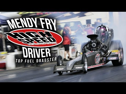 Driver Mendy Fry - High Speed Motorsports Top Fuel Dragster
