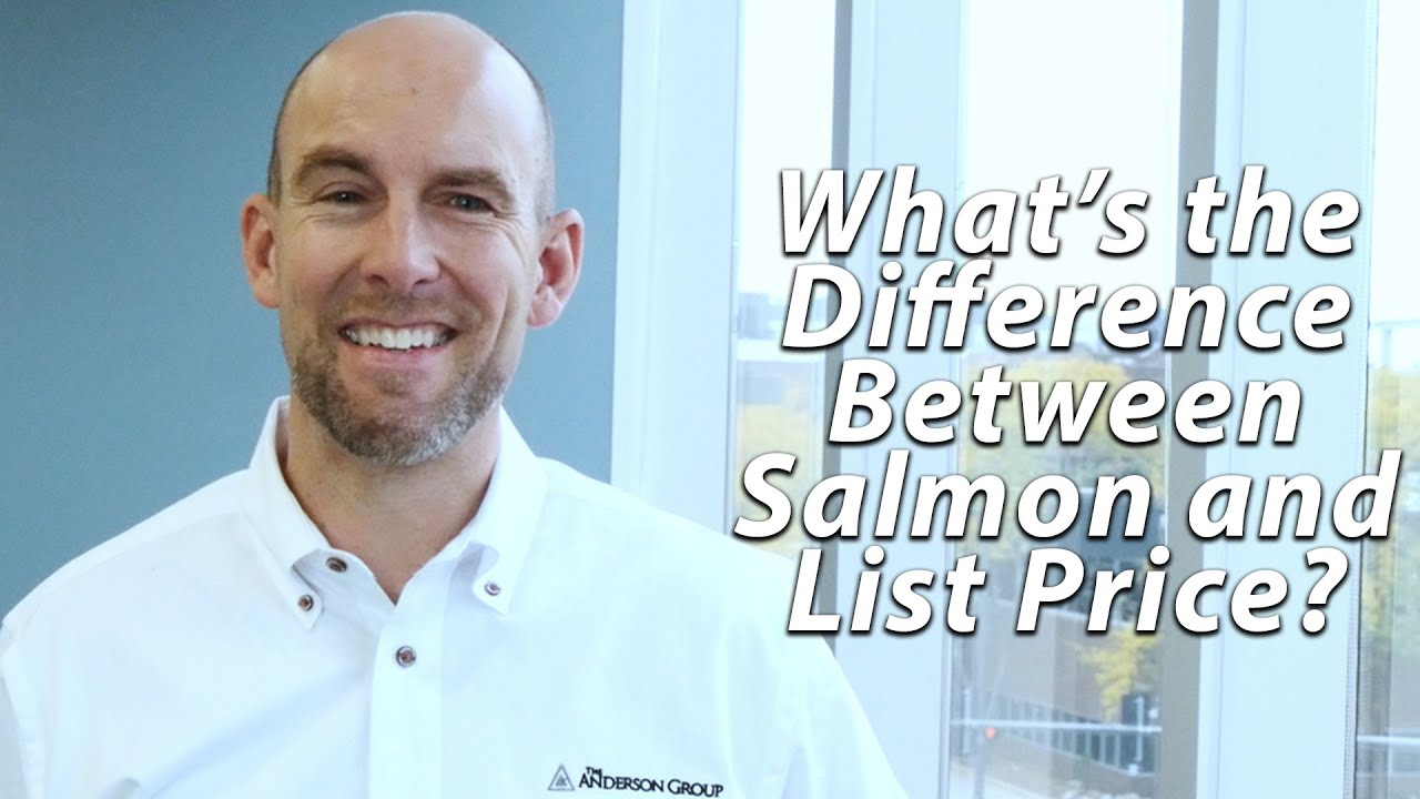 What's the Difference Between Salmon and List Price?
