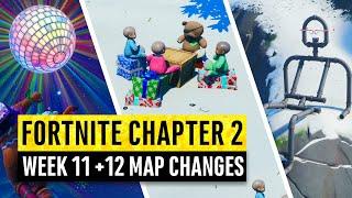 Fortnite | All Chapter 2 Map Updates and Hidden Secrets! WEEK 11 + 12