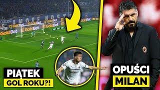 Gol PIĄTKA nominowany do GOLA ROKU! Gattuso ODEJDZIE z AC Milanu...
