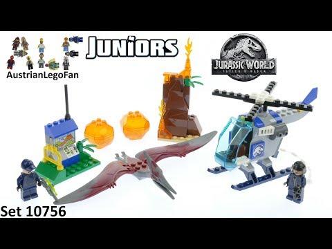 Vidéo LEGO Juniors 10756 : La fuite du ptéranodon (Jurassic World)