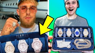 JAKE PAUL'S $1,000,000+ JEWELRY COLLECTION! FIRST EVER, UP CLOSE LOOK!