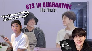 Bts In Quarantine - The Finale