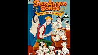 Digitized Opening To Disney's SingAlong Songs: 101 Notes Of Fun (UK VHS)