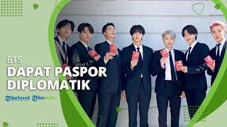 BTS Dapat Paspor Diplomatik dan Resmi Ditunjuk sebagai Utusan Khusus Presiden Korea Selatan