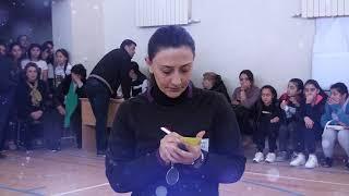 Gəncə şəhər 14 nömrəli orta  mektebin qızlar arasında futzal idman yarışı
