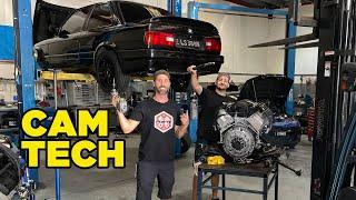 ကျွန်ုပ်တို့၏ LS စွမ်းအင်သုံး BMW ကိုနည်းပညာ CAM တပ်ဆင်ပါ