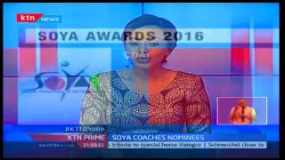 2016 Soya Awards will see five coaches from different sporting fields battle for coach of the year