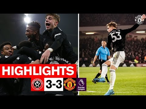 HIGHLIGHTS | Sheffield United 3-3 Manchester United | Premier League 2019/20