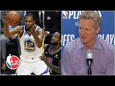 200fd990349f KD  showed everyone who Kevin Durant is  - Steve Kerr
