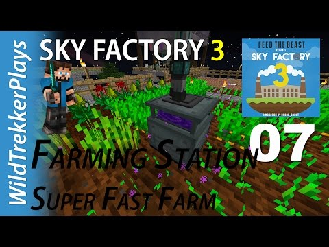 How It Works - EnderIO Farming Stations - Tutorial - игровое