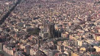 preview picture of video 'Basílica de la Sagrada Família. Bienvenidos al Templo'