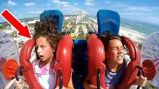 Kids Passing Out #5   Funny Slingshot Ride Compilation