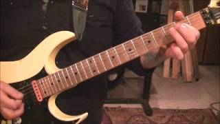STRYPER - WAITING FOR A LOVE THATS REAL - Guitar Lesson by Mike Gross