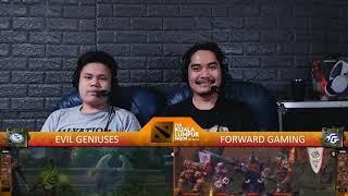 [FIL ] EG v FORWARD GAMING | Game 1 | Playoffs | The Kuala Lumpur Major | By Loot.bet