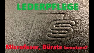 Lederpflege für Audi Ledersitze