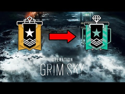 Grim Sky Diamond : Ranked Highlights - Rainbow Six Siege Gameplay